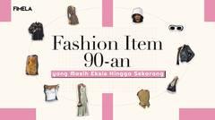 Fashion Item 90an yang Masih Eksis Hingga Sekarang