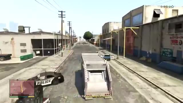 Grand Theft Auto 5 Gameplay Walkthrough Part 41 - Blitz Play