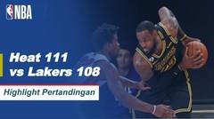 Match Highlight | Miami Heat 111 vs 108 Los Angeles Lakers | NBA Playoff Season 2019/20