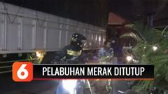 Pelabuhan Merak Ditutup, Polisi Paksa Pemudik Putar Balik   Liputan 6