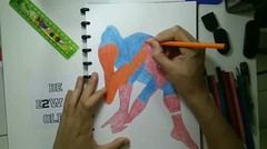 Drawing Peter Parker a.k.a Spiderman
