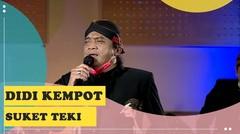 Didi Kempot - Suket Teki Lirik (Live Konser Amal dari Rumah)
