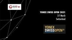 Yonex Swiss Open 2021 | Promo | BWF 2021