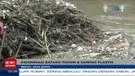 Pasca Banjir, Sampah Menumpuk Di Kali