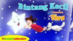 Bintang Kecil | Lagu Anak Indonesia bersama Diva | Kastari Animation