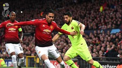 Cuplikan Manchester United vs Barcelona - Leg 1 Babak Perempat Final UEFA Champions League