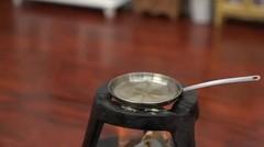 Unik, Masak dengan Kompor Mini