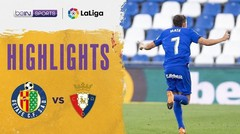 Match Highlight | Getafe 1 vs 0 Osasuna | La Liga Santander 2020