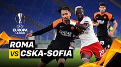 Mini Match - Roma VS CSKA Sofia I UEFA Europa League 2020/2021