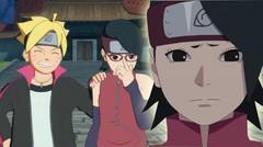 Sarada Dihukum Karena Boruto Membuat Cerita Aneh di Anime Boruto