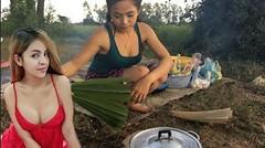 Masakan Tradisional Gadis Desa, Siput Dalam Kelapa