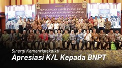 Apresiasi Kementerian_Lembaga kepada BNPT