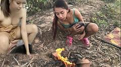 Masakan Tradisional Gadis Desa, Rebus Pisang Batu