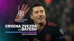 Full Highlight - Crvena Zvezda vs Bayern Munchen I UEFA Champions League 2019/2020