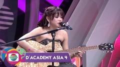 """MULTI TALENTA!!! Petikan Gitar Dan Alunan Lagu """"Amboi Sayang"""" Rara Menentramkan Jiwa - DA Asia 4"""