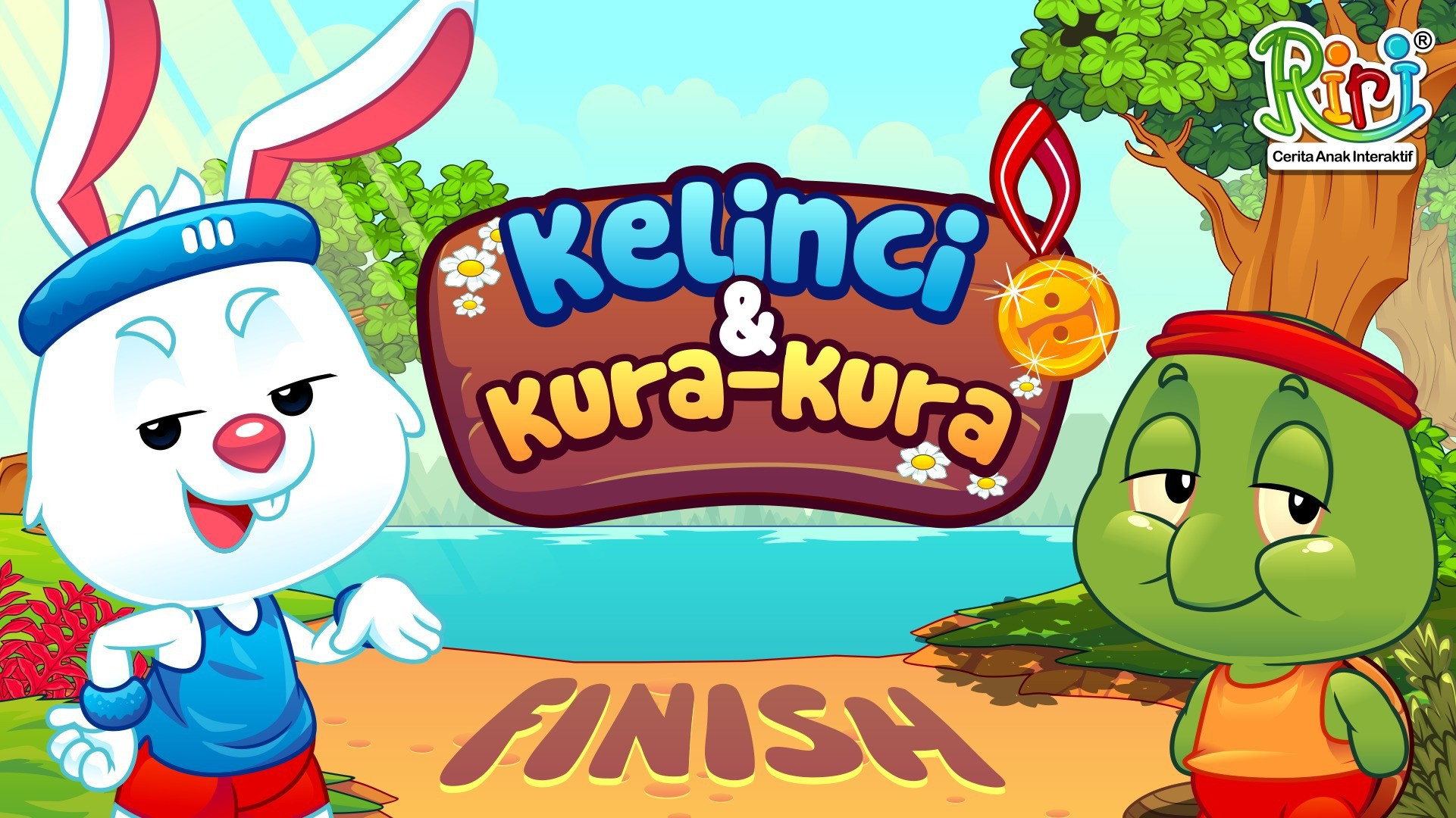Streaming Riri Cerita Rakyat Kelinci Dan Kura Kura Dongeng Anak Bahasa Indonesia Sebelum Tidur Fabel Aesop Hare And Tortoise Vidio Com