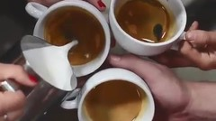 Battle Coffee Latte Art!!!