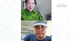 @georgearif Cakap Sapa : Mengatasi Covid-19 bersama Dr. Ronald Irwanto, SpPD - episode 1