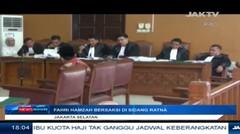 Fahri Hamzah Bersaksi Di Sidang Ratna