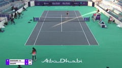 Match Highlight   Maria Sakkari 2 vs 0 Cori Gauff   WTA Abu Dhabi Open 2021