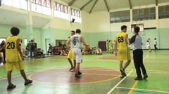 3X3 Basketball Competition SMA Gonzaga VS SMA 3 Part. 3