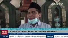 Masjid At Tin Gelar Salat Tarawihterbatas