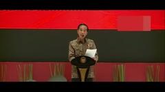 Tahun 2018, Presiden Joko Widodo Bidik Pertumbuhan Ekonomi Hingga 6,1 Persen