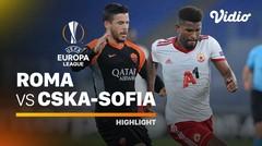 Highlight - Roma vs CSKA Sofia I UEFA Europa League 2020/2021