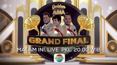 MALAM GRANDFINAL!! Golden Memories Asia LIVE Pukul 20.00 WIB