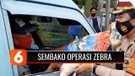 Operasi Zebra Jaya 2020, Polisi Bagikan Masker dan Sembako untuk Pengendara | Liputan 6