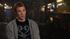 """Marvel's Avengers: Age of Ultron: Chris Evans """"Steve Rogers / Captain America"""" Interview"""