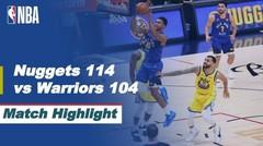 Match Highlight | Denver Nuggets 114 vs 104 Golden State Warriors | NBA Regular Season 2020/21