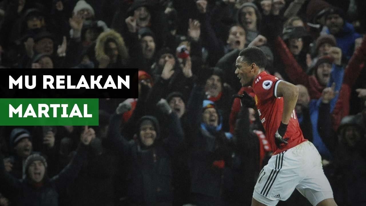 Manchester United Relakan Martial Demi Pemain Dortmund