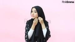 Tutorial Jilbab Segi Empat Simpel Dan Anggun