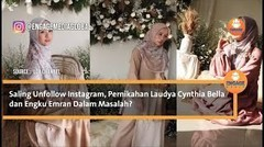 Laudya Cynthia Bella dan Engku Emran Saling unfollow Instagram, Bella Mengaku Telah Bercerai