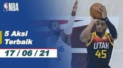 Top 5 | Aksi Terbaik - 17 Juni 2021 | NBA Playoffs 2020/21