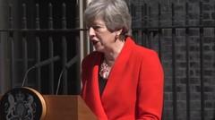 Theresa May Menangis Mengundurkan Diri dari Perdana Menteri