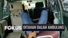 Sanksi Tak Pakai Masker di Ciamis: Pelanggar Ditahan di Dalam Mobil Ambulans