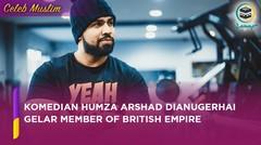 Komedian Muslim Humza Arshad Dianugerahi Gelar Member of British Empire (MBE)