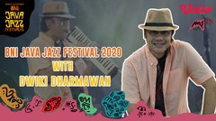 Exclusive Interview With Dwiki Dharmawan - Java Jazz Festival 2020