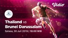 Full Match - Thailand 7 vs 1 Brunei   Piala AFF U-15 2019