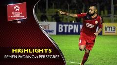 Semen Padang vs Persegres 2-0: Kabau Sirah Menangkan Laga Akhir TSC