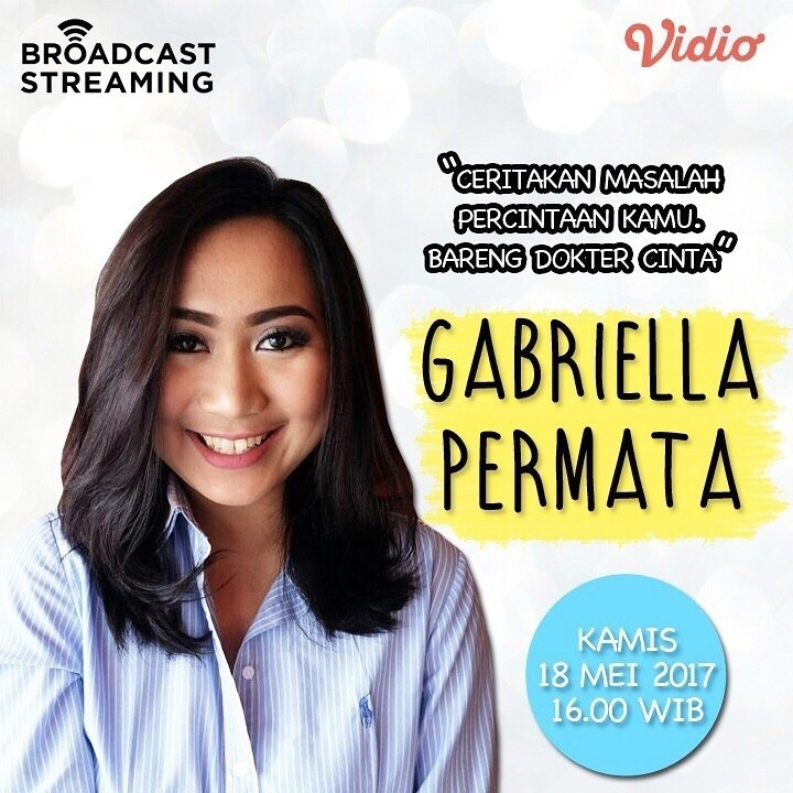 Sctv Live Stream: Konsultasi Percintaan Bersama Gabriella Permata