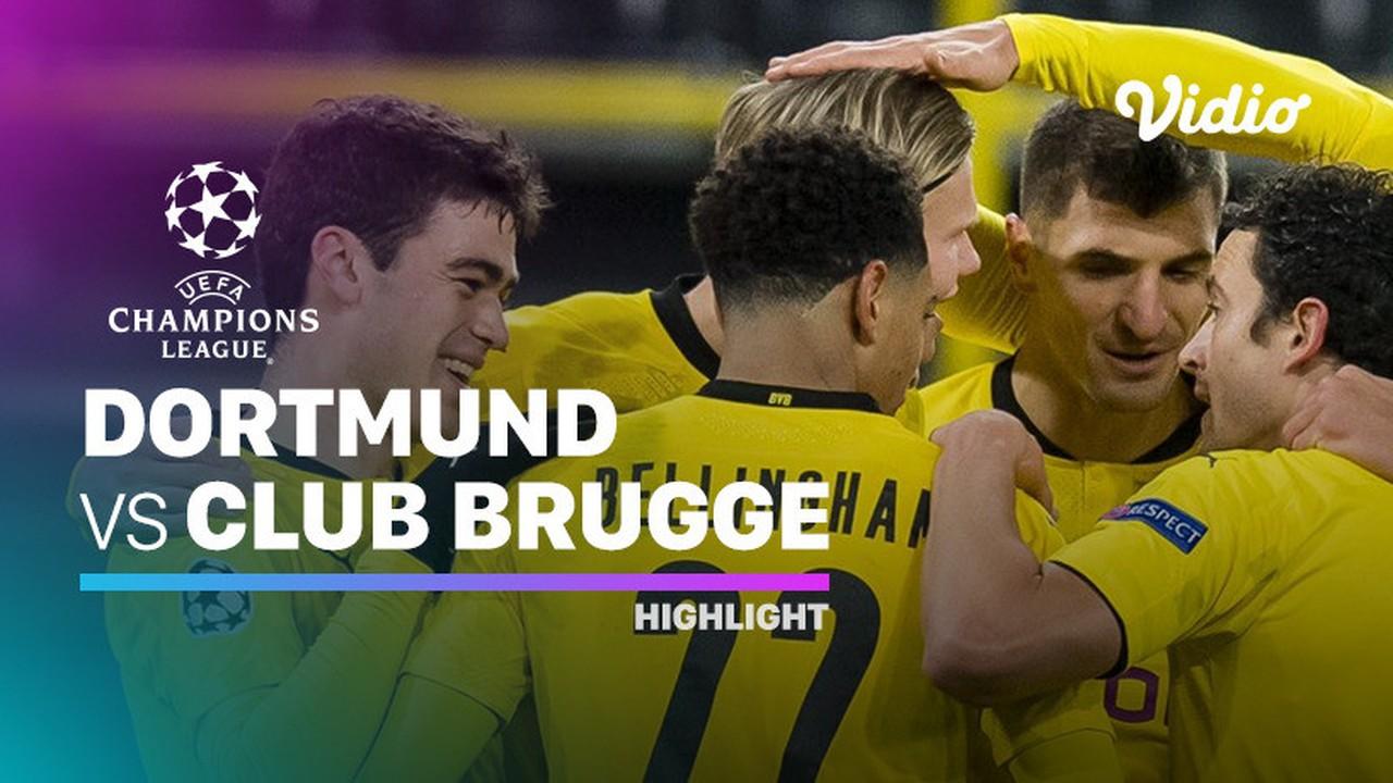 Streaming Highlight Dortmund Vs Club Brugge I Uefa Champions League 2020 2021 Vidio Com