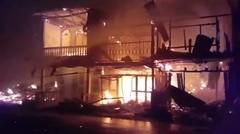 Terjadi Kebakaran di Tiga Balata, Salah satunya Rumah Ketua DPRD Simalungun