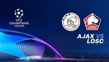 18 SEP 2019 | 02.00 WIB - Ajax vs LOSC Lille - Liga Champions 2019-2020