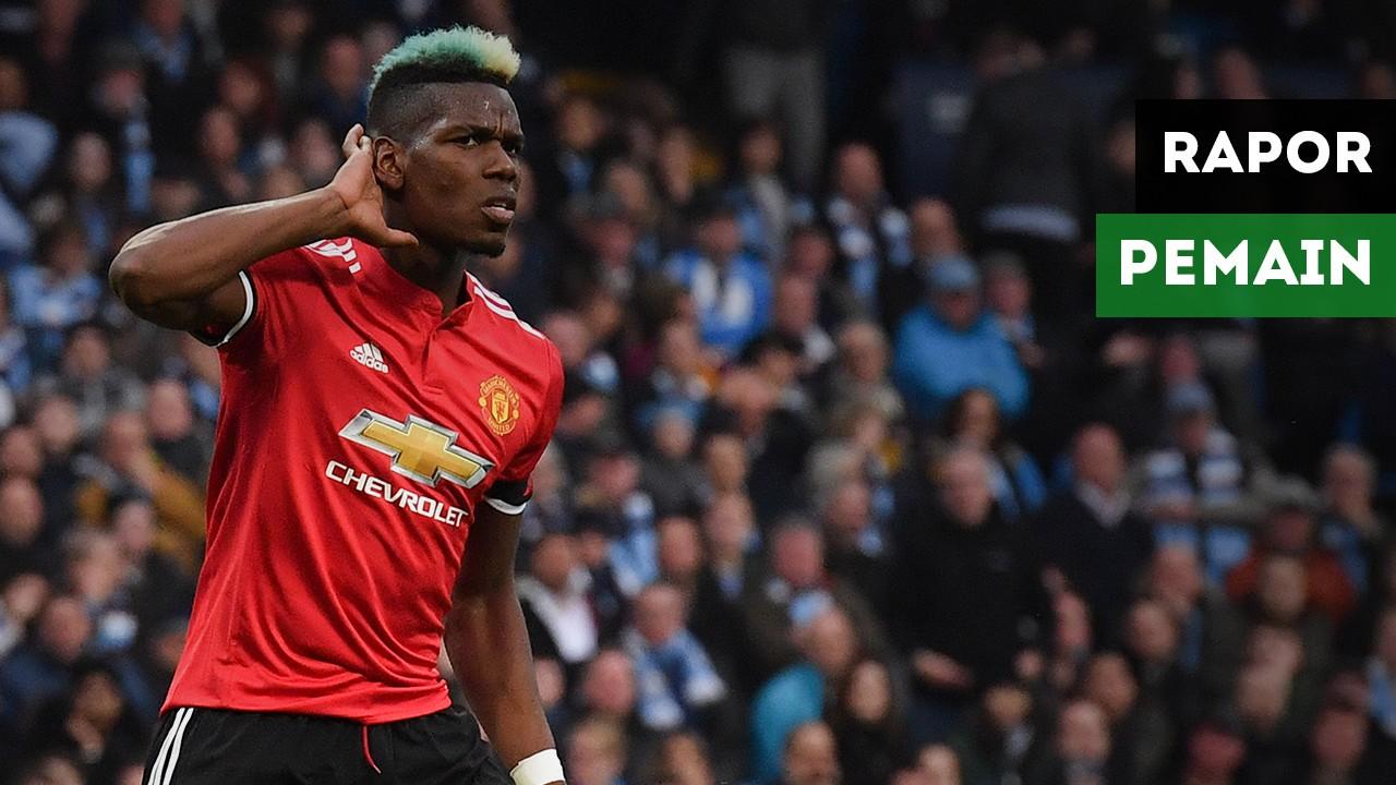 Rapor Pemain Manchester United Saat Kalahkan Manchester City
