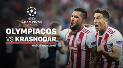 Full Highlight - Olympiacos 4 Vs 0 Krasnodar | UEFA Champions League 2019/2020