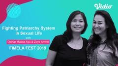 Fighting Patriarchy System in Sexual Life | ZOYA & DJENAR