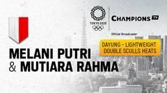 Full Match | Dayung Ganda Putri Kelas Ringan | Olimpiade Tokyo 2020